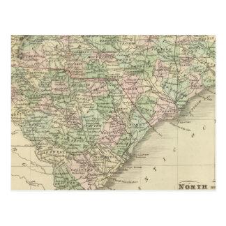 Nord et Caroline du Sud 3 Carte Postale