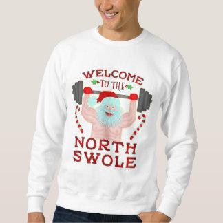Nord laid drôle Swole du chandail | Père Noël de Sweatshirt