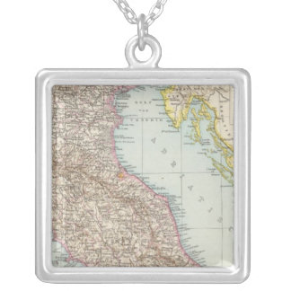 Nordliche Halfte, carte d'Italien de l'Italie du n Pendentif Carré