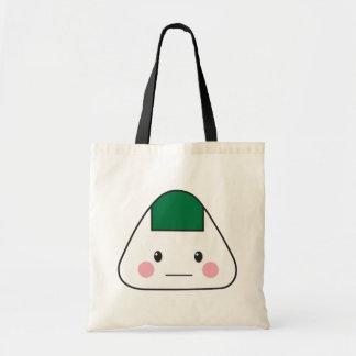 Nori japonais d'algue de boule de riz d'omusubi sac en toile