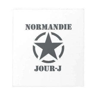 Normandie Jour-J Bloc-note