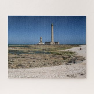 Normandy Jigsaw Puzzle - Gatteville Lighthouse