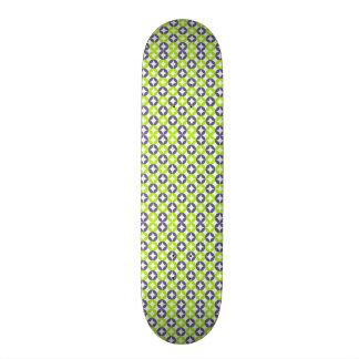 norme avec des formes géométriques planches à roulettes customisées