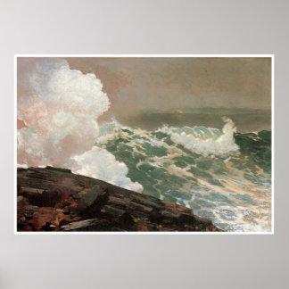 Northeaster, Winslow Homer 1895 Poster