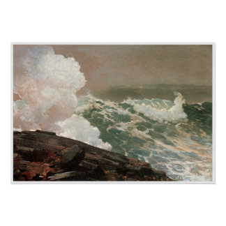 Northeaster, Winslow Homer 1895 Posters
