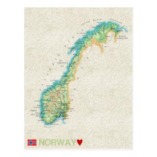 ♥ Norvège de CARTES POSTALES de CARTE