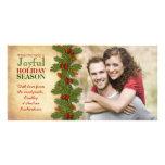 Nos premières de Noël vacances Photocard ensemble Cartes Avec Photo