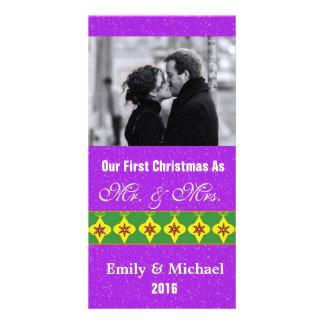Nos premiers cartes photos de mariage de Noël Photocartes