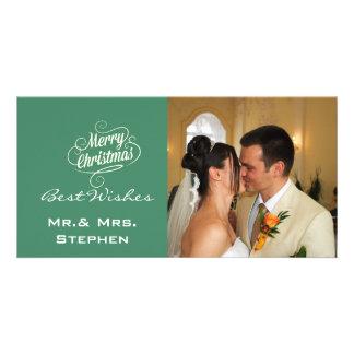 Nos premiers cartes photos de mariage de Noël Cartes De Vœux Avec Photo