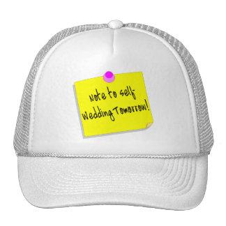 Note à l'individu, épousant demain casquettes de camionneur