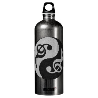 note de clave de musique de yang de yin