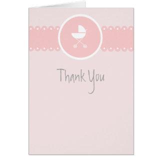 Note de Merci de rose de médaillon de voiture Cartes