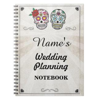 Note de planification de mariage de carnet de
