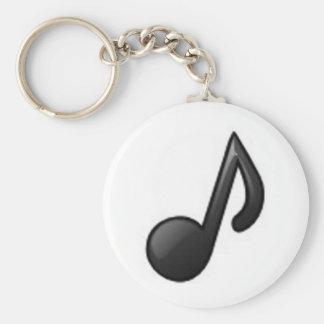 Note musicale porte-clés