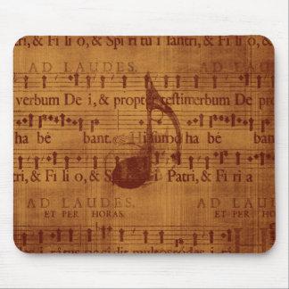 Note musicale tapis de souris