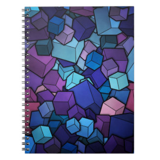 NOTEBOOK Cubes Design Carnet