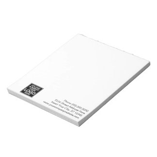 Notes de base de logo de bureau ou d'affaires blocs notes