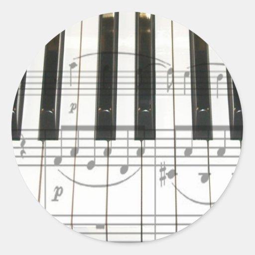 Note Musique Sur Clavier Piano Notes de Clavier et de Musique