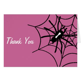 Notes de Merci de baby shower de Halloween de bébé