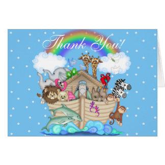 Notes de Merci de l'arche de Noé