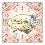 Notes de Merci - princesse enchantée de féerie Invitations