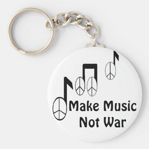 notes de musique porte-clef
