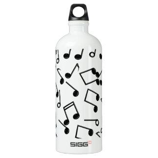 Notes de musique sur le blanc (ajoutez la couleur