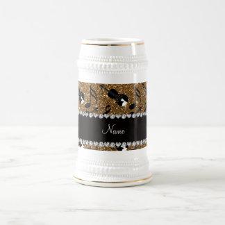 Notes nommées faites sur commande de musique de chope à bière