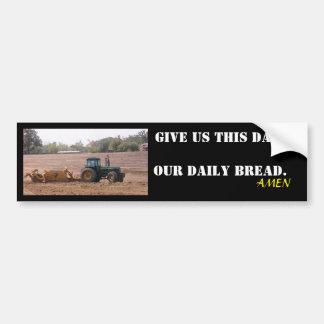 Notre autocollant quotidien de tracteur de pain