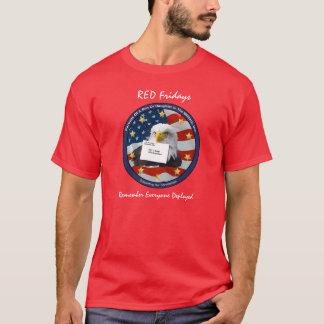 Notre chemise ROUGE officielle de vendredi ! T-shirt
