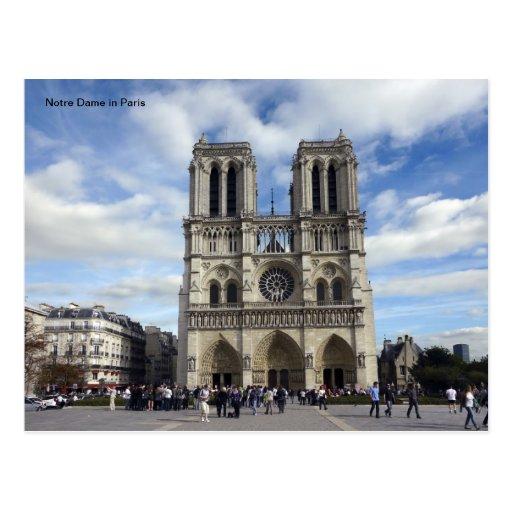 Notre Dame à Paris Cartes Postales