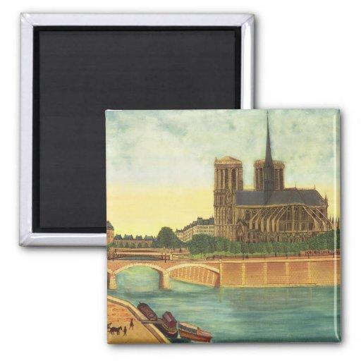 Notre-Dame c.1933 Magnets