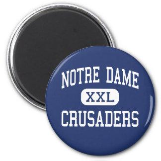 Notre Dame - croisés - haute - Easton Aimant