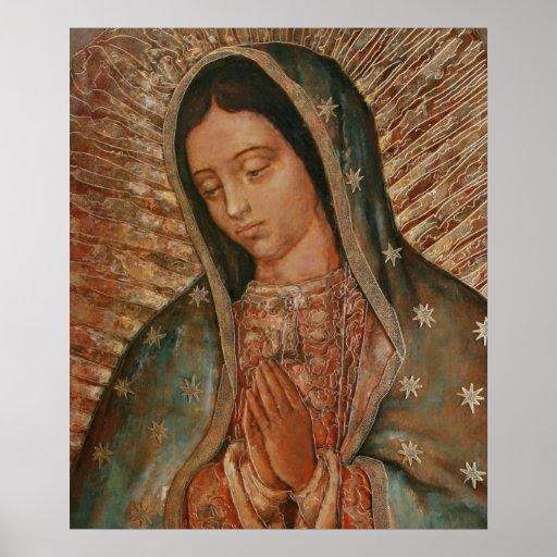 notre dame de Guadalupe Posters