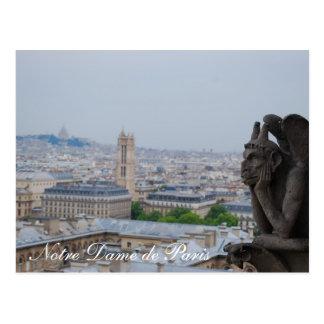 Notre Dame de Paris Carte Postale