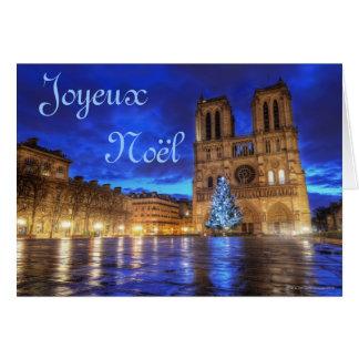 Notre-Dame de Paris de Cathédrale Carte De Vœux