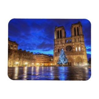 Notre-Dame de Paris de Cathédrale Magnets En Rectangle