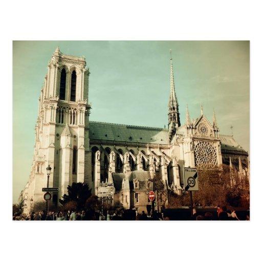 Notre Dame de Paris (France) Carte Postale