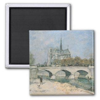 Notre Dame de Paris vintage Aimant Pour Réfrigérateur