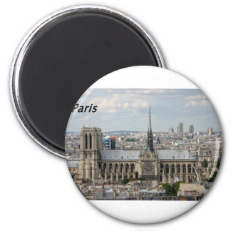 Notre Dame [kan.k] .JPG Magnet Rond 8 Cm