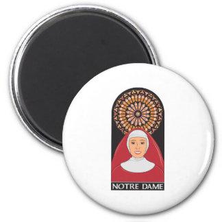 Notre Dame Magnets Pour Réfrigérateur