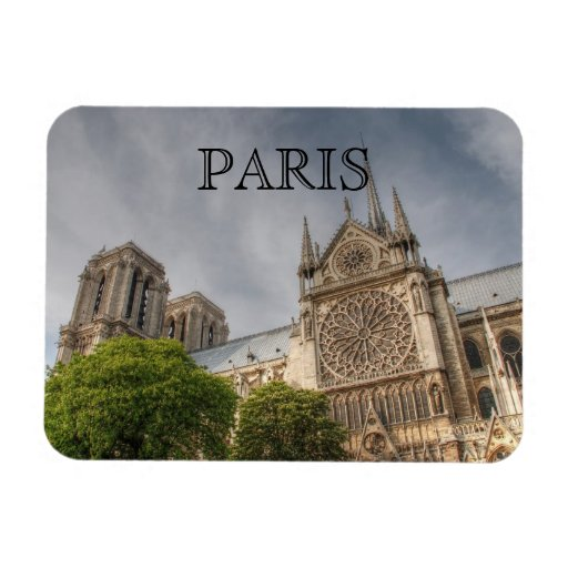 Notre Dame Magnets Rectangulaires
