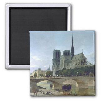 Notre Dame, Paris, 1884 Magnets