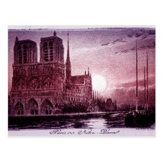 Notre Dame Paris Carte Postale