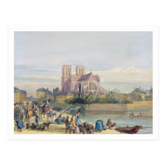 Notre Dame, Paris (la semaine sur le papier) Cartes Postales