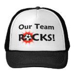 """""""Notre équipe bascule"""" le chapeau du football Casquettes De Camionneur"""