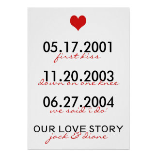 Notre Love Story Affiches