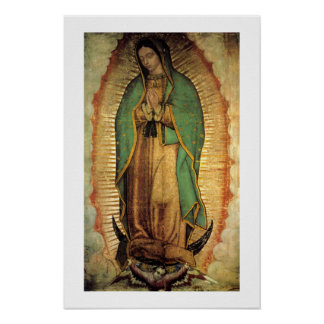 Notre Madame d'affiche de Guadalupe Framable Poster