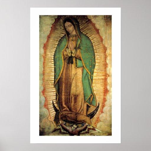 Notre Madame d'affiche de Guadalupe Framable
