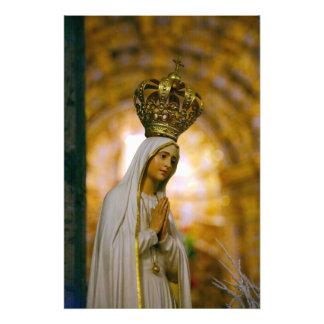 Notre Madame de Fatima Photo D'art